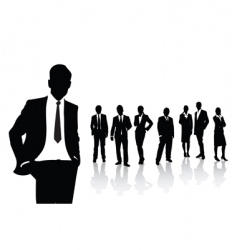 people business vector image