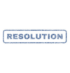 Resolution textile stamp vector