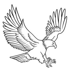 eagle 009 vector image vector image