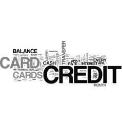 which credit card to apply for tips to help you vector image vector image