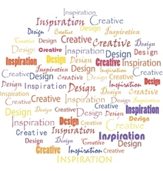 Inspiration vector image