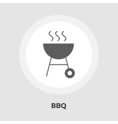 BBQ Icon Flat vector image