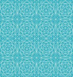 Blue diamond seamless pattern vector
