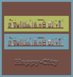 City2 vector image