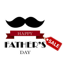 fathers day sale vector image