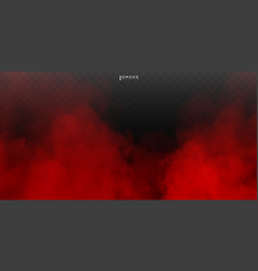 fog or smoke isolated special effect on vector image