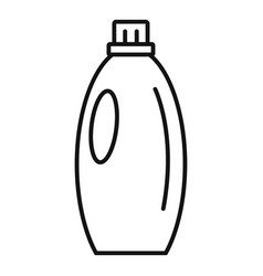 gel wash bottle icon outline style vector image