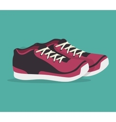Shoes sport design vector