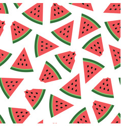 Watermelon colorful seamless pattern image vector