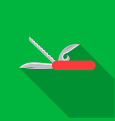 knife icon of for web and vector image vector image