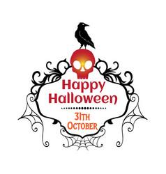 31st october happy halloween t-shirt design vector