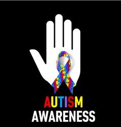 Autism Awareness sign vector image