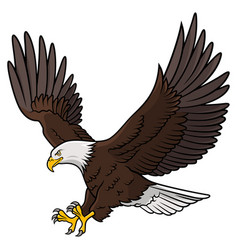 eagle 010 vector image