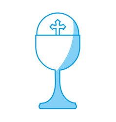 Holy grail cup icon vector