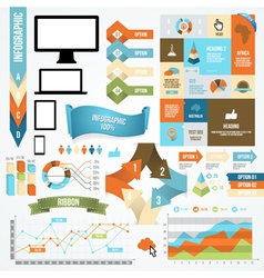 Infographic Icon and Element Collection vector image
