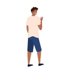 Isolated avatar man backwards design vector