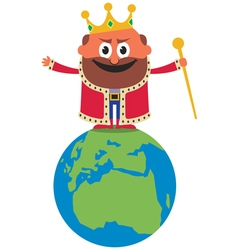 King of the World vector image