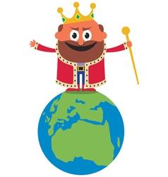 king world vector image