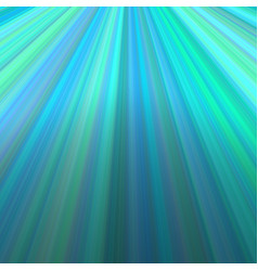 Ray light background - graphic from lines in cyan vector