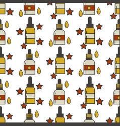 vape device seamless pattern cigarette vector image