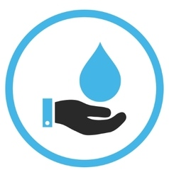 Water Service Flat Icon vector