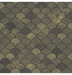 aged scale seamless pattern vector image
