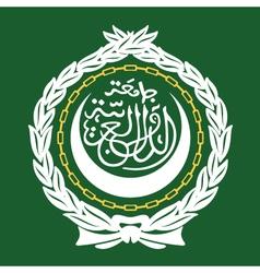 Arab League Emblem vector image