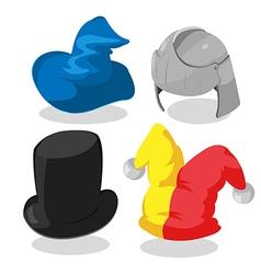 Fantasy Hat Cartoon Design Graphic vector image
