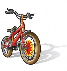 children bicycle vector image