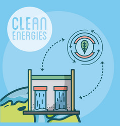 Clean and green energies vector