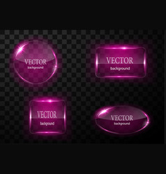 glass button plane easy editable vector image