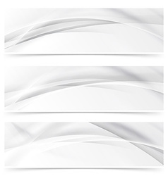 Modern web transparent line layout abstract header vector image