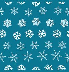 Winter wonderland delicate white snowflake crystal vector