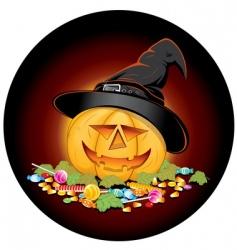 Halloween candies vector image vector image