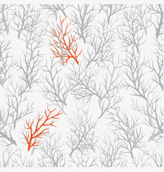 pattern of the branches vector image vector image