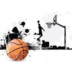 Basketballer vector image vector image