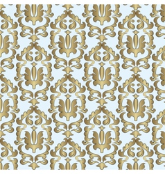 Classic style damask ornament pattern vector image vector image