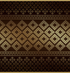 Thai Pattern Vintage vector image