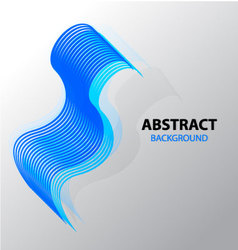 Abstract background line wave vector image