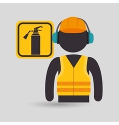 Avatar worker protection tool vector