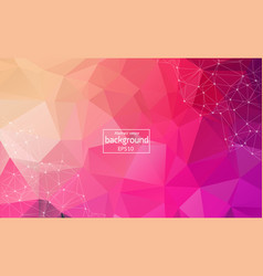 background abstract polygonal colorful vector image