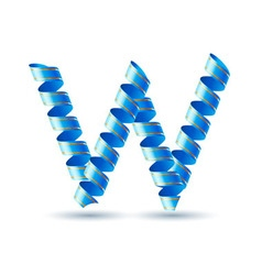 Festive alphabet vector image