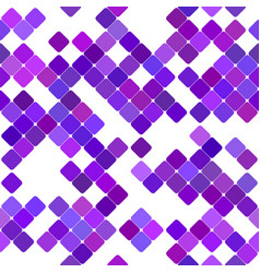 Geometrical rounded square pattern background vector