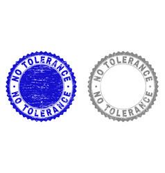 Grunge no tolerance scratched stamp seals vector
