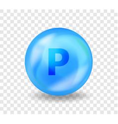 Mineral p phosphorus medicine drug nutrition vector