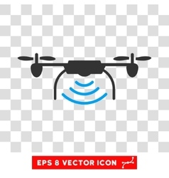 Radio Transmitter Drone Eps Icon vector