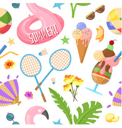 Spirit summer summertime pattern vector
