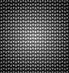 Stainless steel dark pattern abstract background vector image