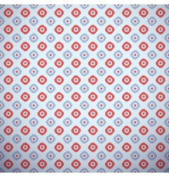 Yoga pattern tiling Light blue and red colors vector