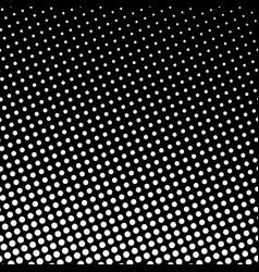 dots on black background pop art background vector image